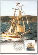 Australia-1999 Sailing Ships $ 1.05  Lady Nelson  Maximum Card - Cartes-Maximum (CM)