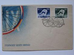 IX Peace Race Warsaw Berlin Prag / Cycling 1956 Year   / Poland  FDC /
