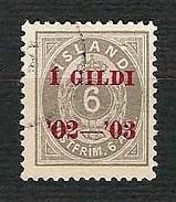 "ISLAND 1902 - Numeral And Crown Overprint  ""1 Gildi '02 - '03"" - Mi:IS 27 - Prephilately"