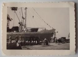 """Le Paquebot """"Baudouinville"""" Au Port D'Anvers En 1951. - Bateaux"""