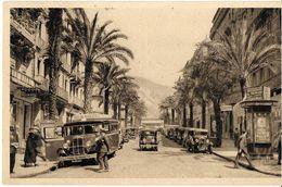 TOULON VAR 83 LA DOUCE FRANCE 550 AVENUE COLBERT DEPART AUTOCAR TOULON MARSEILLE ECRITE 1937 EDIT. YVON - Toulon