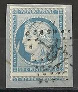 """PLANCHAGE DU N° 60A - 49 A2  """" LA GRANDE FLAMME """" Sur Fragment, Oblitération GC 57"""
