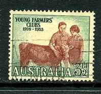 Australie Y&T 202 ° - 1952-65 Elizabeth II : Ed. Pré-décimales