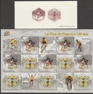 FRANCE  2003  PROOF/ EPREUVE +BLOCK TRANSPORTS  VELO   **  MNH  Réf  FB 36GFa