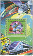 BURUNDI 2016 ** Football France Euro 2016 Fußball EM S/S - OFFICIAL ISSUE - A1641