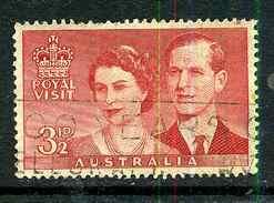Australie Y&T 207 ° - 1952-65 Elizabeth II : Ed. Pré-décimales