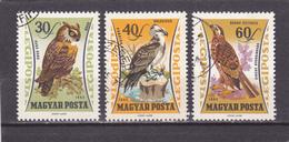HONGRIE   1962  Poste Aérienne    Y. T.  N° 250  à  257   Incomplet   Oblitéré