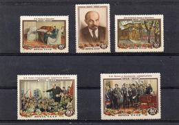 Russie 1954 - 30 Eme Anniv De La Mort De Lénine YT 1679/83  **