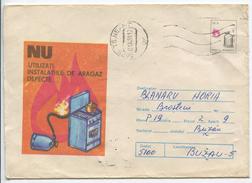 Fire Prevention Propaganda - Stationery (stamp : Original Design)