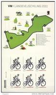 #Denmark 2011. Bicycle World Champ.. Sheetlet. MNH(**)