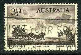 Australie Y&T 220 ° - 1952-65 Elizabeth II : Ed. Pré-décimales
