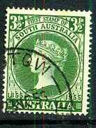 Australie Y&T 224 ° - 1952-65 Elizabeth II : Ed. Pré-décimales