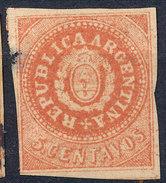 Stamp Argentine Republic 1862-63 Mint  Lot#9 - Nuovi