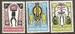 Papua New Guinea 1966 SG 93-5 Folklore Part Set Unmounted Mint - Papúa Nueva Guinea