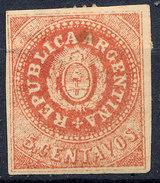Stamp Argentine Republic 1862-63 5c Mint  Lot#12 - Nuovi