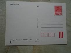 D146679   HUNGARY-Entier Postal Stationery -Ganzsache -  FERTORAKOS   2  Ft Nr.870525/1,4,10