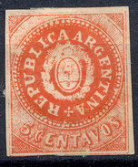 Stamp Argentine Republic 1862-63 5c Mint  Lot#13 - Nuovi
