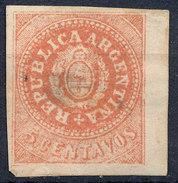 Stamp Argentine Republic 1862-63 5c Mint  Lot#14 - Nuovi