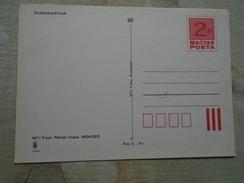 D146680  HUNGARY-Entier Postal Stationery -Ganzsache -  DUNAKANYAR 2  Ft Nr.860425/5