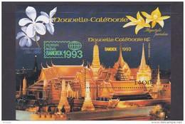 New Caledonia SG 975 MS 1993 Bangkok 93 Orchids Miniature Sheet MNH - New Caledonia