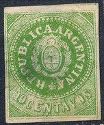 Stamp Argentine Republic 1862-63 10c Mint  Lot#16 - Nuovi