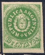Stamp Argentine Republic 1862-63 10c Mint  Lot#17 - Nuovi