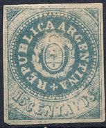 Stamp Argentine Republic 1862 15c Mint  Lot#21 - Nuovi
