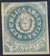 Stamp Argentine Republic 1862 15c Mint  Lot#23 - Nuovi