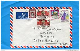 MARCOPHILIE-Lettre LIBYE->Françe+cad  1973-5-stamps N°462 Foire De Tripoli+467 Jiournée Des Aveugles