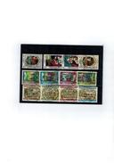 Luxembourg 3 Series De Timbres Caritas De 1980,1988 Et 1998 Oblitérées