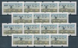 Berlin Automatenmarken Kpl. Satz 14 Werte 10-300 Pfg **