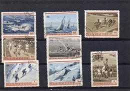 Russie 1954 - Serie Des Sports YT 1693 à 1700
