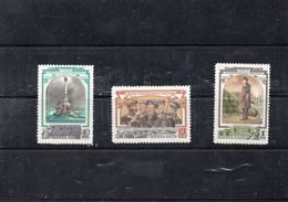Russie 1954 - Centenaire Du Siége De Sébastopol   YT 1711/13 **
