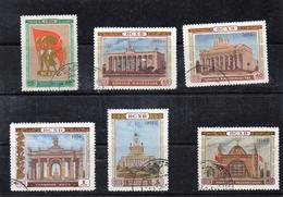Russie 1954 -exposition Agricole De Moscou  YT 1714/19