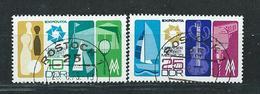 DDR  1973  Mi 1872 - 1873  Leipziger Herbstmesse  Gestempelt