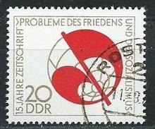 """DDR  1973  Mi 1877  15 Jahre Zeitschrift """"Probleme Des Friedens"""" Gestempelt"""