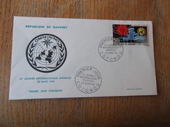DAHOMEY (1965) Journée Météorologique Mondiale - Benin - Dahomey (1960-...)