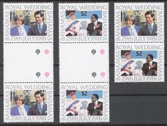 Bahamas 1981 Mi# 480-81** ROYAL WEDDING - Bahama's (1973-...)