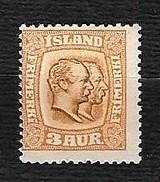 ISLAND 1907- Kings Christian IX And Frederik VIII - Mi:IS 49 - Prephilately