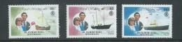 Seychelles Zil Eloigne Sesel 1981 Charles & Diana Royal Wedding ' Ship ' Values  Set Of 3 MNH - Seychelles (1976-...)