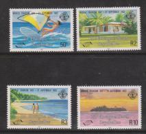 Seychelles Zil Eloigne Sesel 1983 World Tourism Day Set 4 MNH - Seychelles (1976-...)