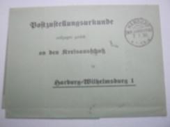1930  ,  HANDORF , Klarer Stempel Auf Brief , KOS , Obersegment