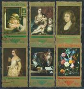 DDR  1973  Mi 1892 - 1897  Staatliche Kunstsammlung Dresden Gemälde Alter Meister  Gestempelt
