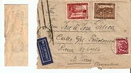 Austria LP  Argentina (censuurstempel) 5/X/1946      D1215