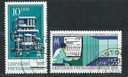 DDR  1974  Mi 1931 - 1932  Leipziger Frühjahrsmesse  Gestempelt