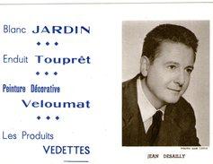 (12) Calendrier 1961 Jean Desailly  Produit Vedettes (bon Etat) - Tamaño Pequeño : 1961-70
