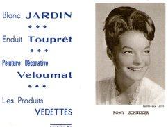 (12) Calendrier 1961 Romy Schneider  Produit Vedettes (bon Etat) - Petit Format : 1961-70