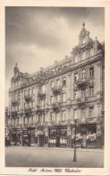 """ALTE  AK  WIESBADEN / Hess.  - Hotel """"Grüner Wald"""" - 1922 Gelaufen - Wiesbaden"""