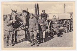 CPA  Militaire   BELGE - Guerre 1939-45