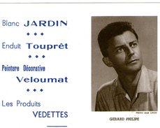 (12) Calendrier 1961 Gerard Philipe  Produit Vedettes (bon Etat) - Petit Format : 1961-70